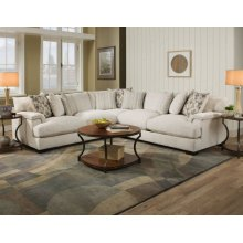 2100 Shambala Cream 3-Piece Sectional