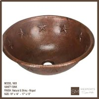 1605 Stars Vanity Sink Product Image