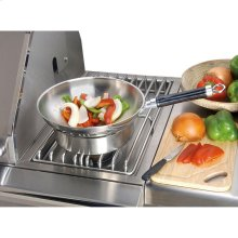 """Commercial Wok 14"""" With Handle"""