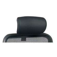 Black Leather Headrest