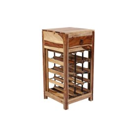 Sheesham Accents Wine Rack, PDU-14