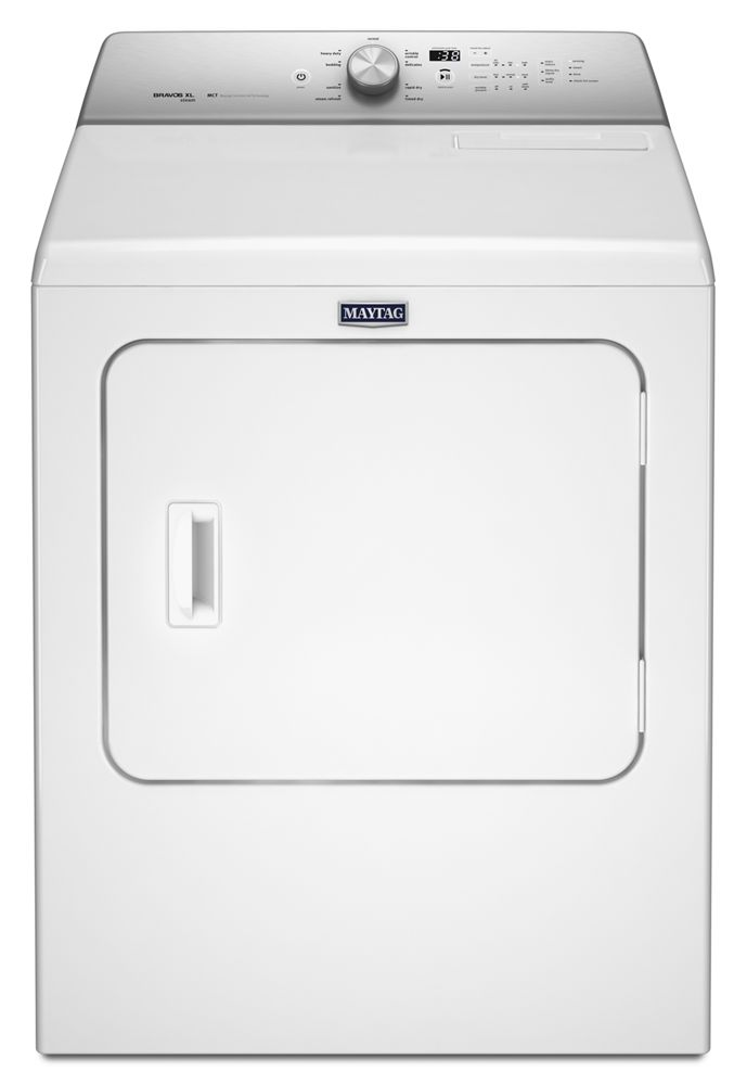 Shop Maytag Full Size In Mass Front Load Dryers Mgdb766fw
