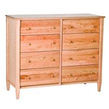 Shaker Small 8 Drawer Dresser
