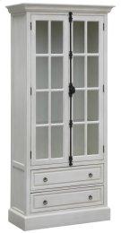 Coventry White Oak 2 Door Curio Product Image