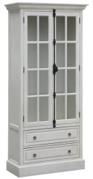Coventry White Oak 2 Door Curio Product Image