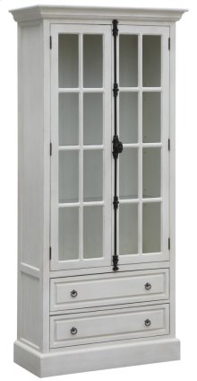 Coventry White Oak 2 Door Curio