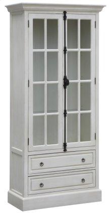 Coventry White Oak 2 Door Curio
