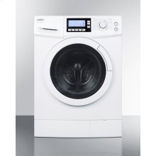 """24"""" Wide Washer/dryer Combo for Non-vented Use, With 15 Lb. Wash Capacity"""