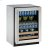 """Additional 2000 Series 24"""" Beverage Center With Stainless Frame Finish and Field Reversible Door Swing (115 Volts / 60 Hz)"""