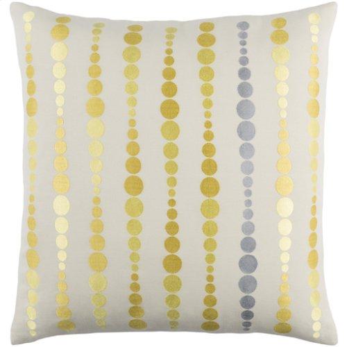 """Dewdrop DE-002 20"""" x 20"""" Pillow Shell with Down Insert"""