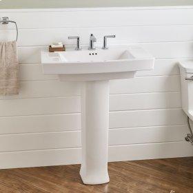 Townsend Pedestal Sink  8-inch Centers  American Standard - Linen
