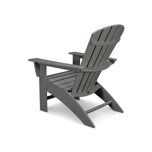 Pacific Blue Nautical Curveback Adirondack Chair