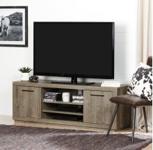 TV Stand for TVs up to 60'' - Weathered Oak
