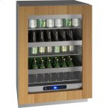 """u-line5 Class 24"""" Refrigerator With Integrated Frame Finish and Field Reversible Door Swing (115 Volts / 60 Hz)"""