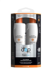 Ice & Water Refrigerator Filter 2 - 2 Pack
