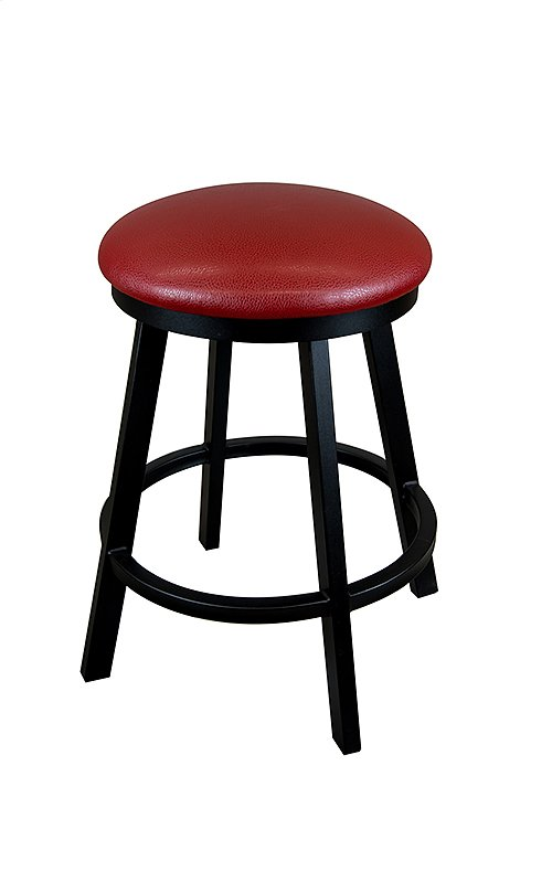 Edmonton B513H26BS Backless Swivel Bar Stool