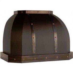 "54"" 1200 CFM Designer Series Range Hood Base Painted"
