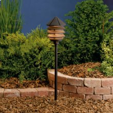 Three Tier 120V Textured Architectural Bronze