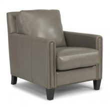 Reuben Leather or Fabric Chair