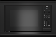 "WolfConvection Microwave 30"" Black Trim - E Series"