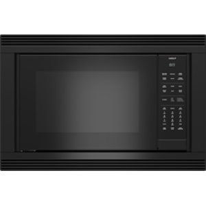 "WolfConvection Microwave 30"" Black Trim - E Series"