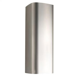 BestBlack Flue Extension for K3139 Range Hood (photo shows SS finish) Product comes in black