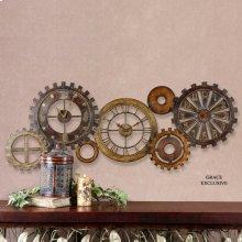 Spare Parts Wall Clock
