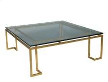 Reid Cocktail Table - Glass