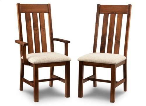 Cumberland Arm Chair With Wood Seat