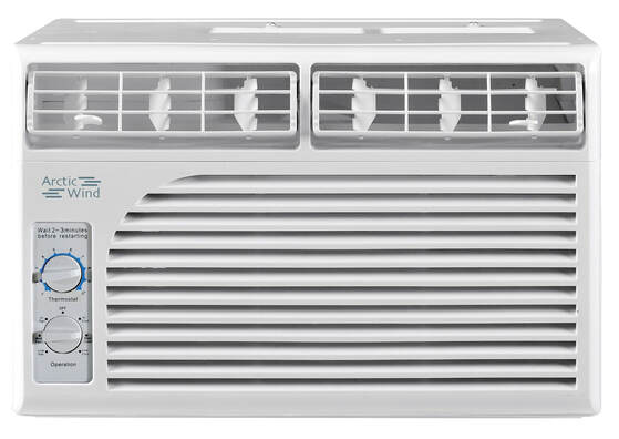 5,000 BTU Air Conditioner Mechanical Controls