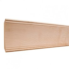 "5-1/4"" x 3/4"" Cove Crown Moulding, Species: Poplar. Priced by the linear foot and sold in 8' sticks in cartons of 56' feet."