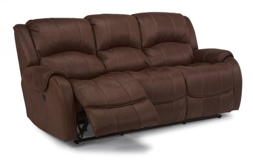 Pure Comfort Fabric Power Reclining Sofa