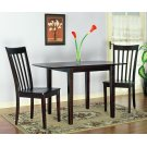 """Leg Table - Table has 2 9"""" drop leaves Product Image"""