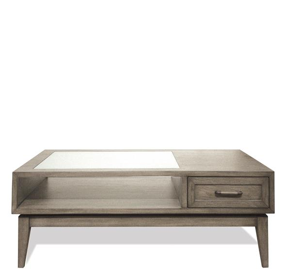 Vogue Coffee Table Gray Wash Finish