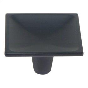 Dap Square Knob 2 Inch - Matte Black