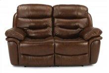 Westport Leather Reclining Loveseat
