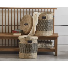Seagrass Essential Hampers - Set of 2