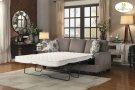 Sofa with Sleeper Sofa: 83 x 36 x 38H Sleeper Mattress: 60 x 71.75 x 4.75H Product Image