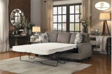 Sofa with Sleeper Sofa: 83 x 36 x 38H Sleeper Mattress: 60 x 71.75 x 4.75H