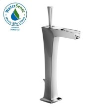 Pyke Monoblock Vessel Faucet - Polished Chrome