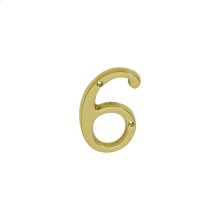 House Accessories  Classic House 6 - Bright Brass