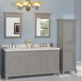 "Smithfield 72"" Double Bowl Vanity - Medium Gray Product Image"