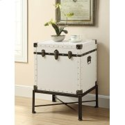 Traditional White Accent Cabinet Product Image
