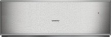 """400 Series Convection Warming Drawer Stainless Steel-backed Glass Front Width 24"""" (60 Cm), Height 8 3/16"""" (21 Cm)"""