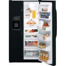 GE® 25.4 Cu. Ft. Side-By-Side Refrigerator with Dispenser
