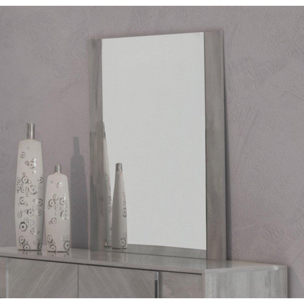 Nova Domus Alexa Italian Modern Grey Mirror