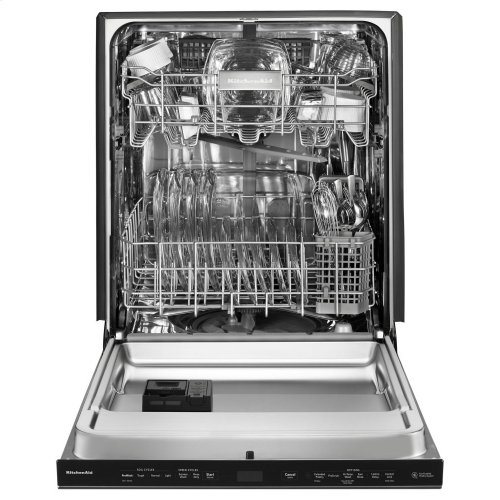 44 DBA Dishwashers with Clean Water Wash System and PrintShield Finish, Pocket Handle - Stainless Steel with PrintShield™ Finish
