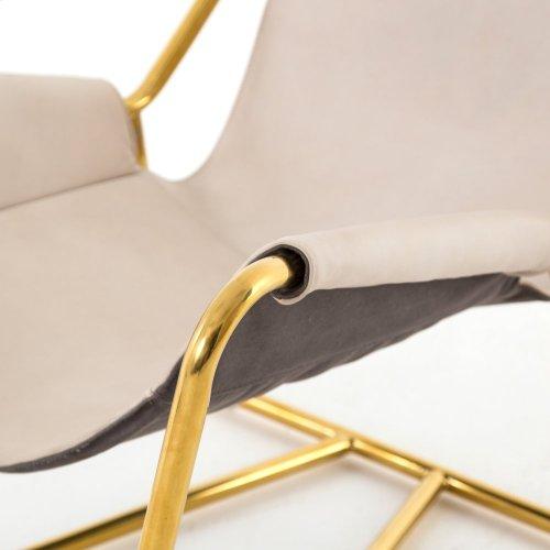 Alaskan Ivory Cover Vera Chair