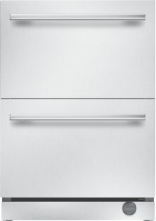 24 inch UNDER-COUNTER DOUBLE DRAWER REFRIGERATOR/FREEZER T24UC910DS