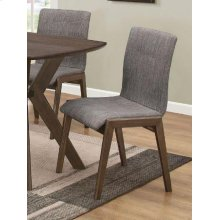 Mcbride Retro Grey Dining Chair